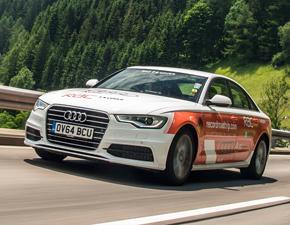 Audi A6 TDI Ultra mileage record