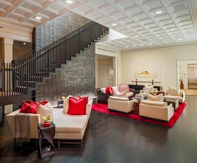 kelly ripa's living room