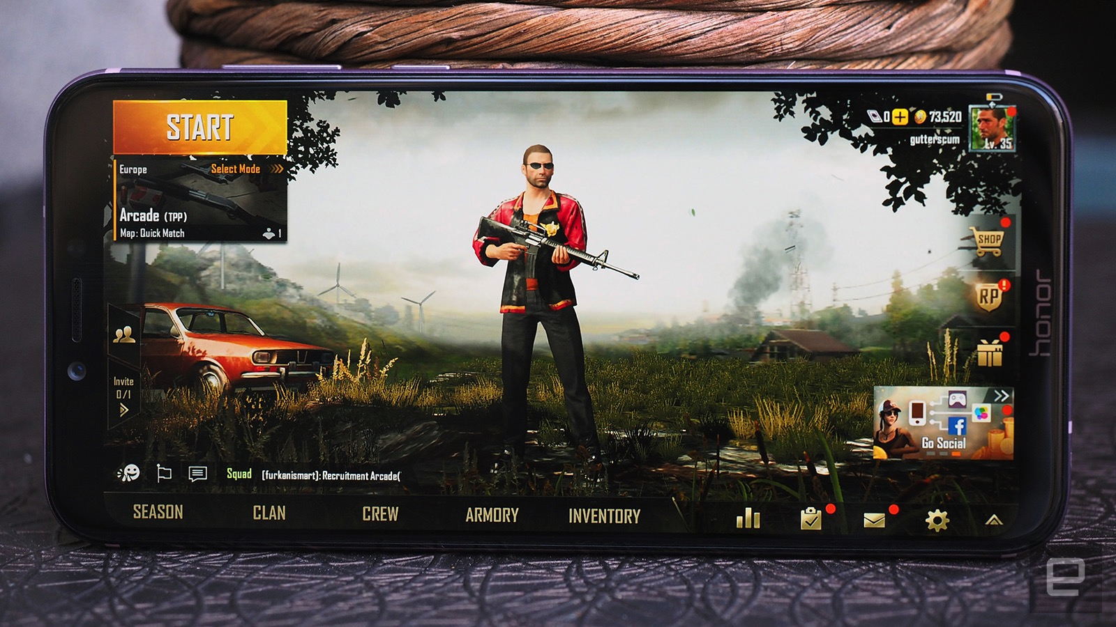 Honor's Play gaming phone is far from perfect for 'PUBG'