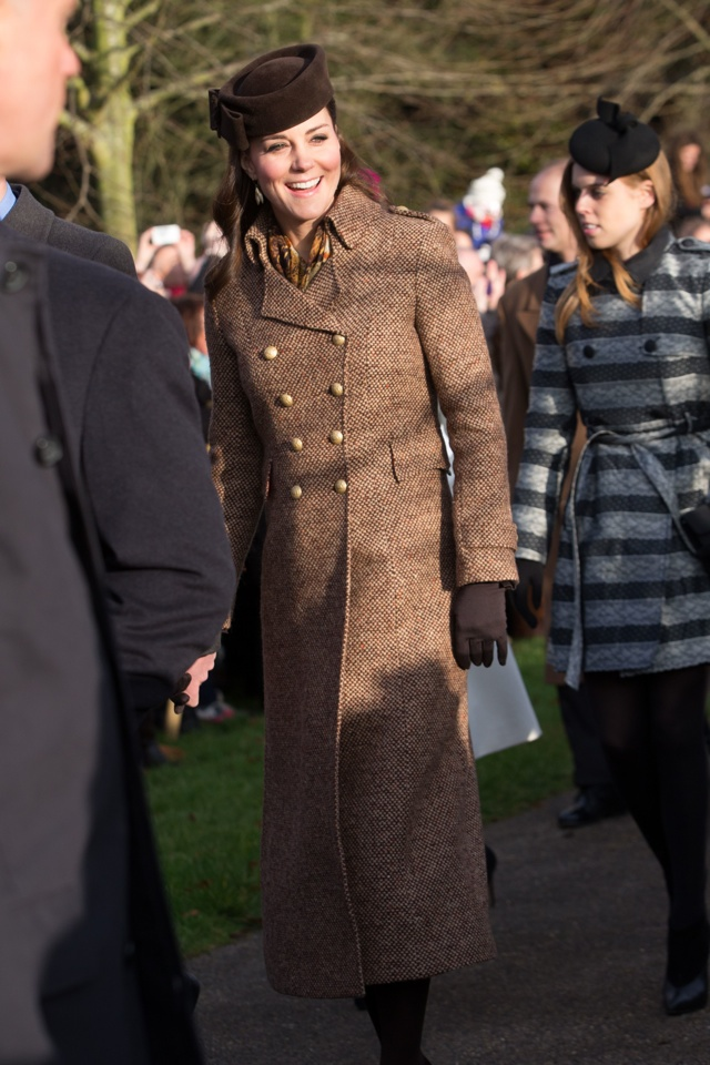 How Princess Eugenie Outshone Kate Middleton On Christmas Day ...