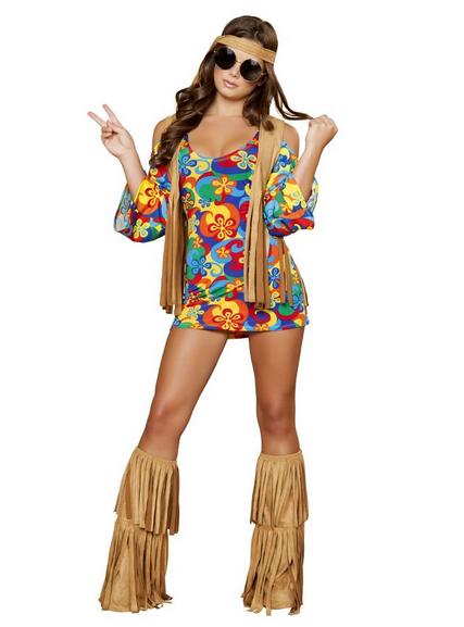Hippie Halloween Costume on Sale