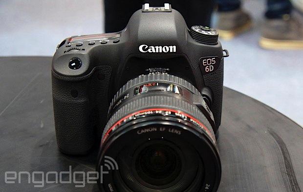 Canon EOS 6D 新韌體改善了 AI Servo 自動對焦問題,來下載更新吧!