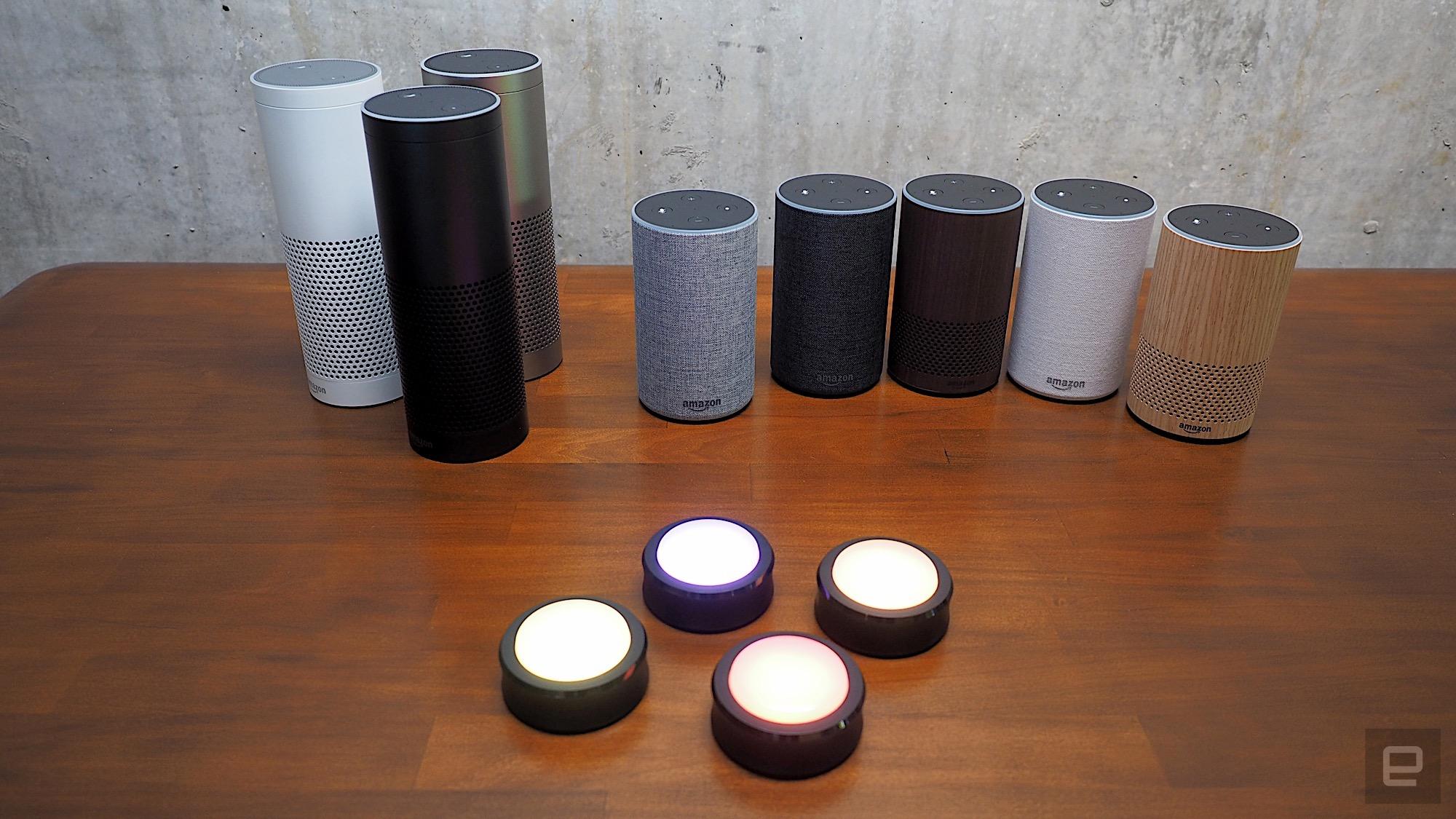 Amazon S New Echo Designs Bring Alexa In All Sizes
