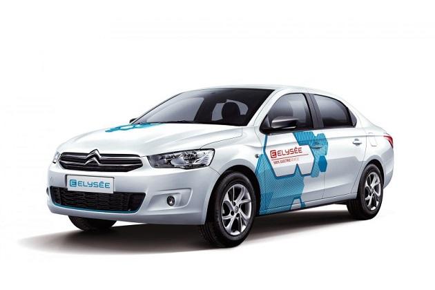 シトロエン、「Cエリーゼ」がベースの中国市場向け新型電気自動車「Eエリーゼ」を公開