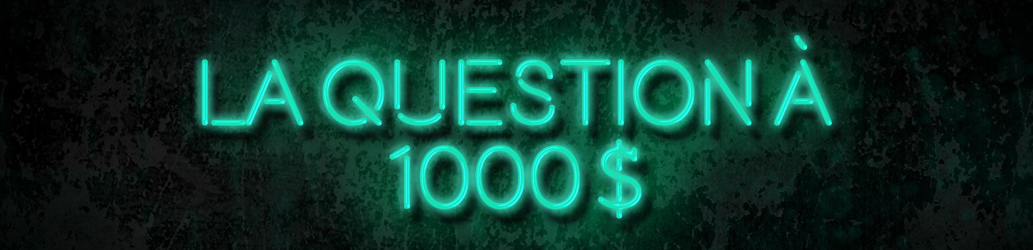La question à 1000$ : la «clause nonobstant», comment ça