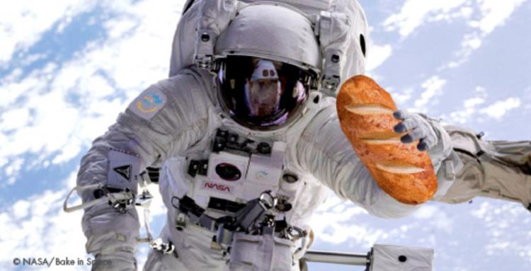 issで焼きたてパンが食べられる bake in spaceがオーブンとパン生地を