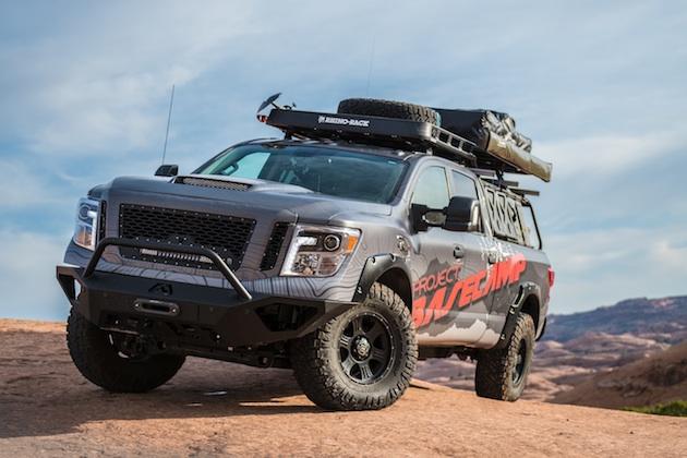 日産、「タイタンXD」をベースに大陸を旅するための装備を満載した「プロジェクト・ベースキャンプ」を発表