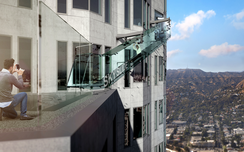 Skyscraper Slide