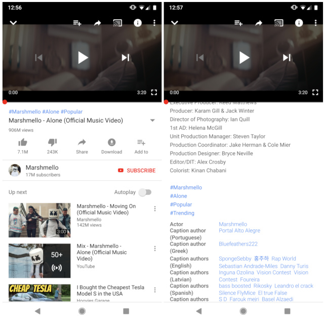 engadget.com - YouTube begins embracing the hashtag