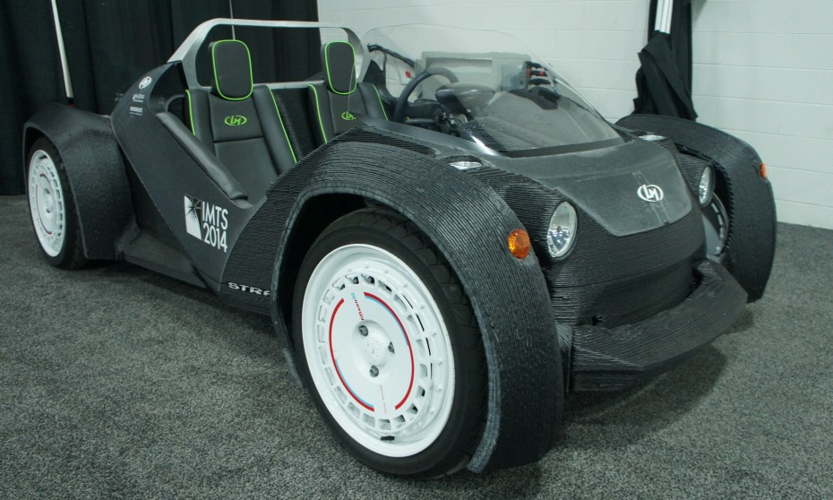 Local Motors Dprinted Car Meets The Detroit Auto Show - When is the next car show