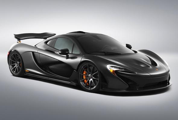 Bespoke McLaren P1