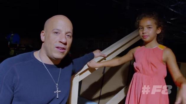 【ビデオ】ヴィン・ディーゼルの娘が映画『ワイルド・スピード8』についてコメント
