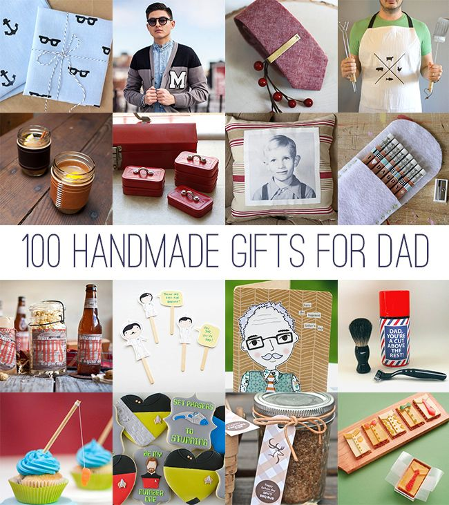 DIY Fathers Day 100 Handmade Gifts For Dad