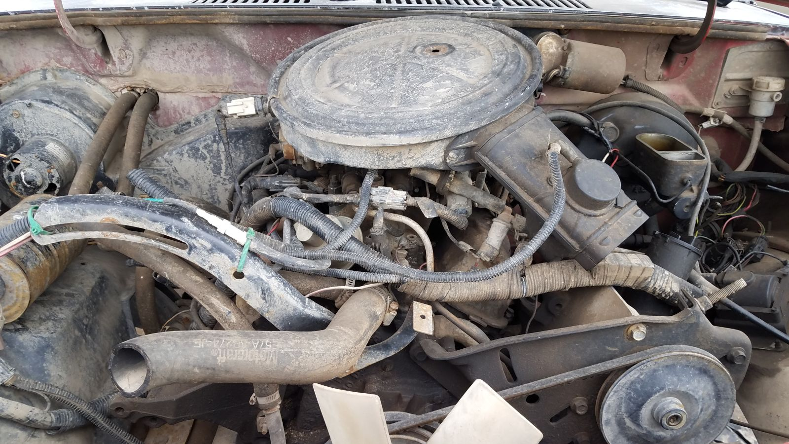 Junkyard Gem 1985 Ford Bronco Ii Rocky Mountain High Sawzall In Practice Nearly Every Had A 28 Or 29 Liter Cologne V6 The Same Engine Family Used Capri