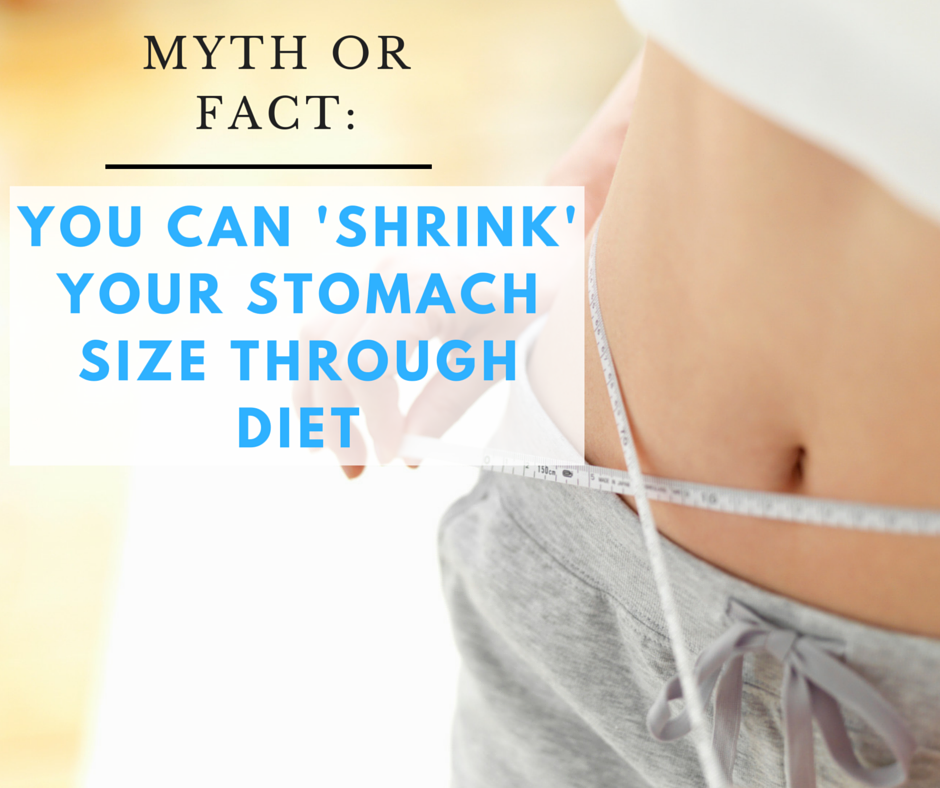 We Found Out If You Can Actually Shrink Your Stomach Through Diet