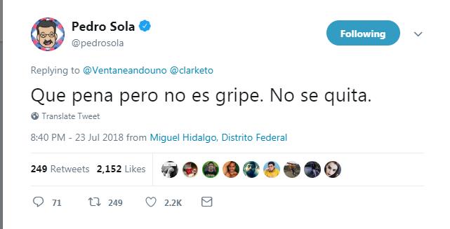 Una vez más, Pedro Sola se convierte en el héroe sin