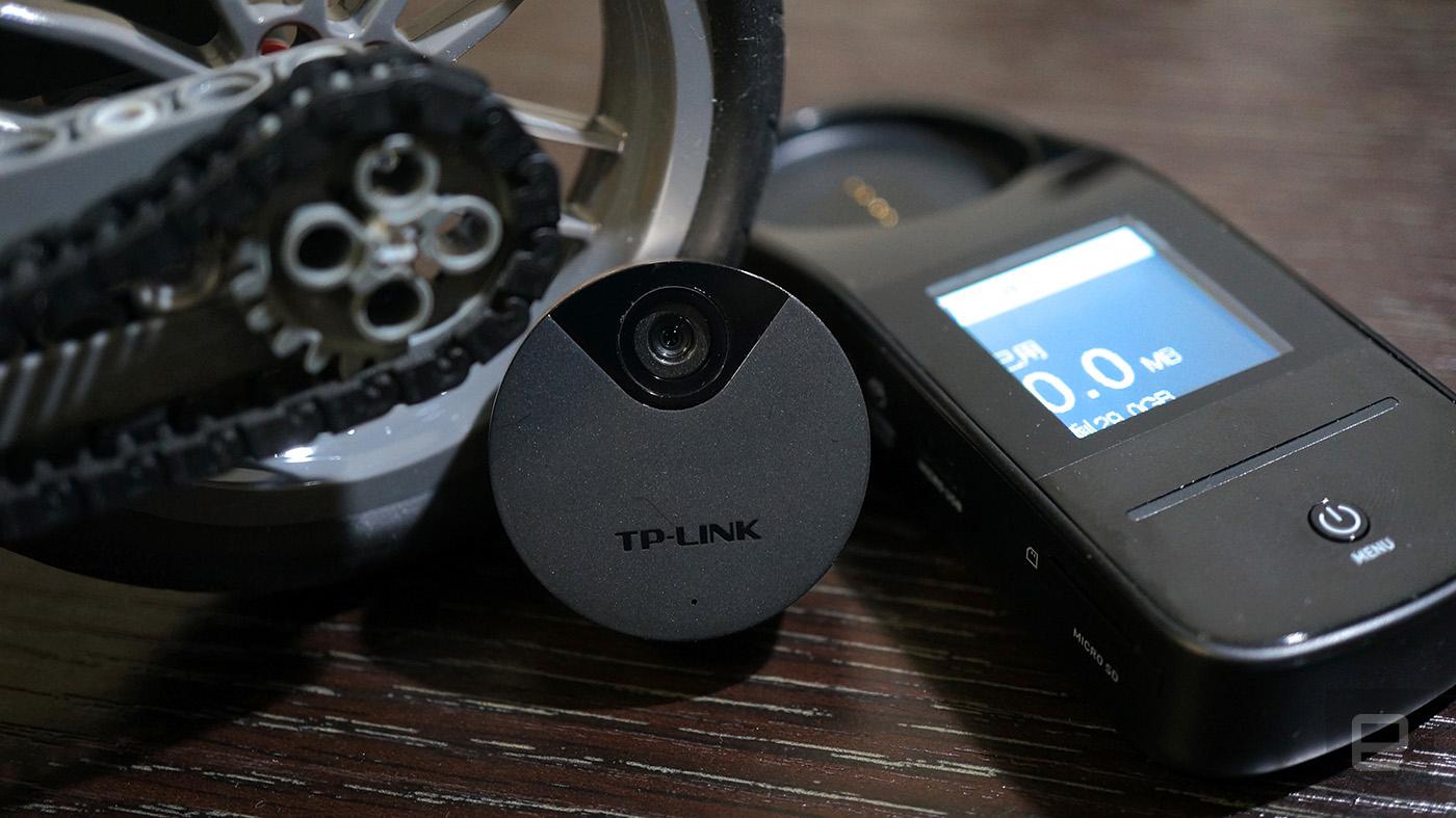 TP-Link 出了款可穿戴的 Quarter Camera 相机