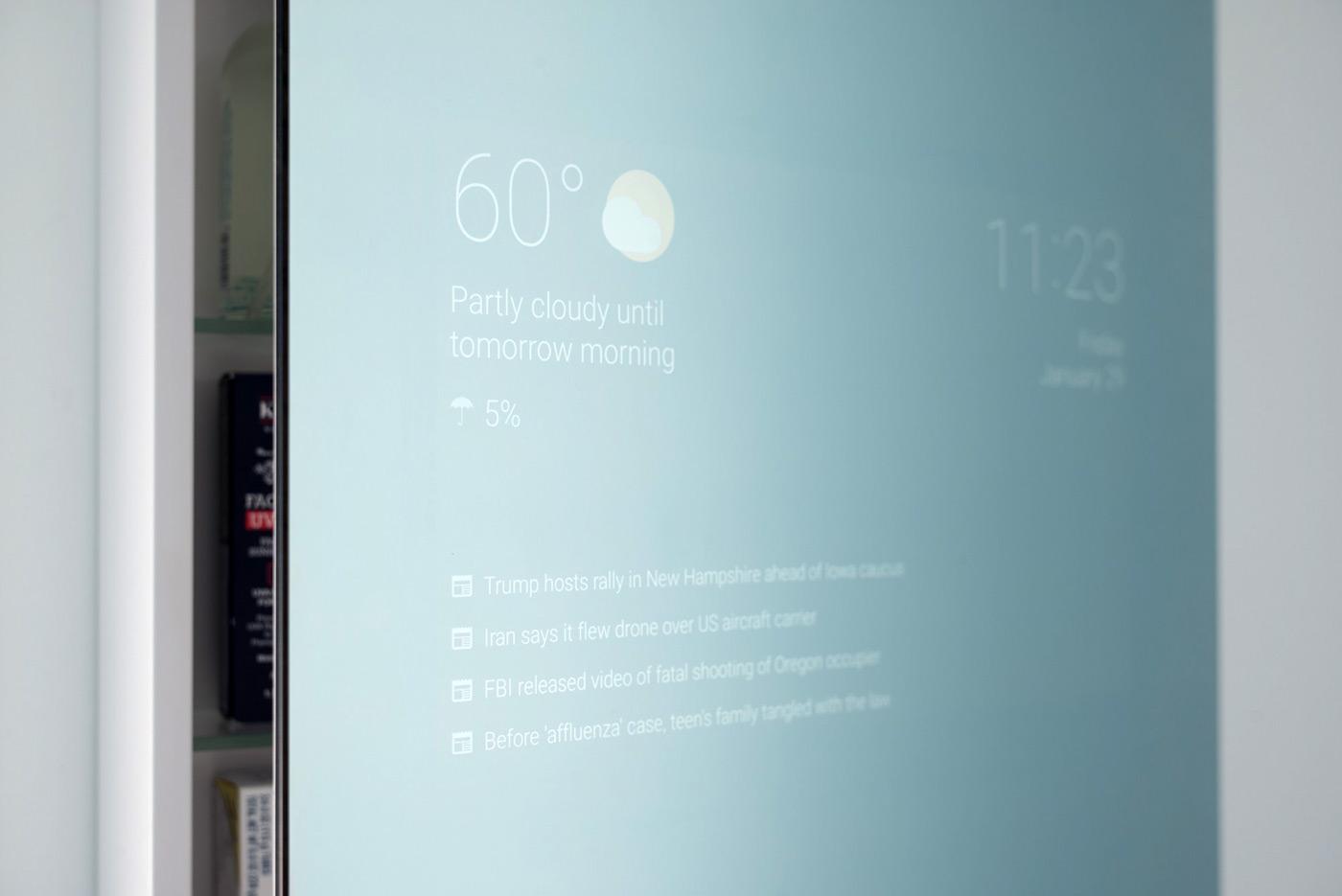 智能镜子还没有普及,但 Google 员工先自制了一面