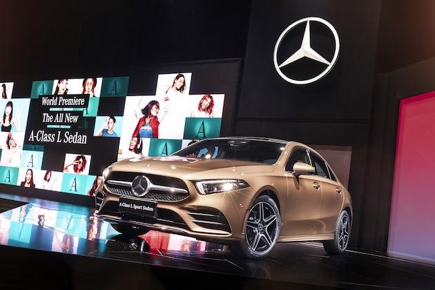 メルセデス・ベンツ、新型「Aクラス L セダン」を発表! ロングホイールベースのセダンは中国市場向け
