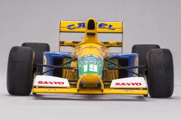 Michael Schumacher first podium position car for sale
