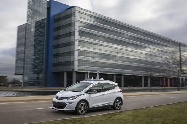 GMが、ミシガン州で新型EV「ボルト(Bolt)」をベースにした自動運転車のテスト車両の生産と公道走行を開始!