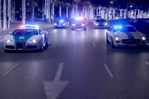 【ビデオ】世界で最もカッコいいドバイ警察スーパーカー部隊のプロモーション映像