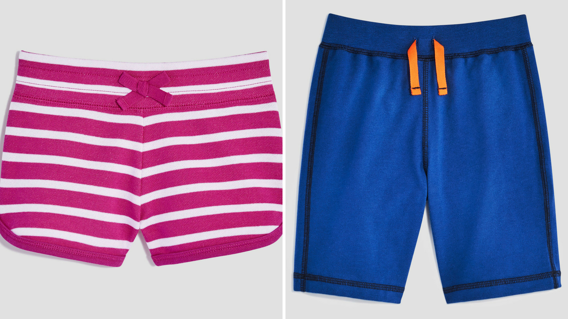 Toddler girl shorts and toddler boy shorts currently for sale at Joe