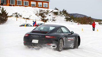 Porsche Ice Driving Experience