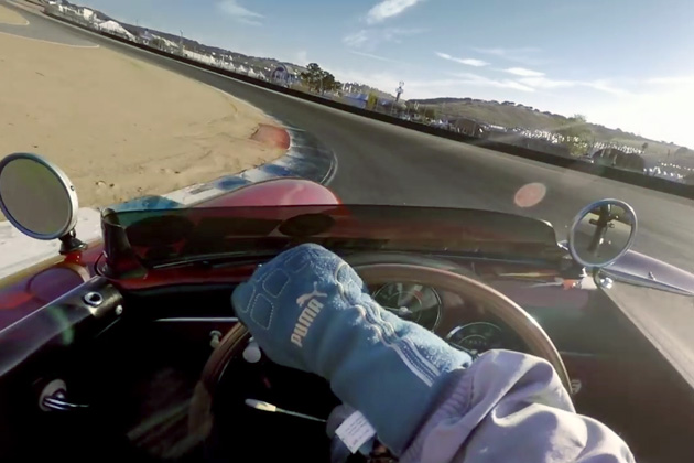 【ビデオ】サーキット1周を歴代のポルシェ20台で走り、つなぎ合わせたオンボード映像!