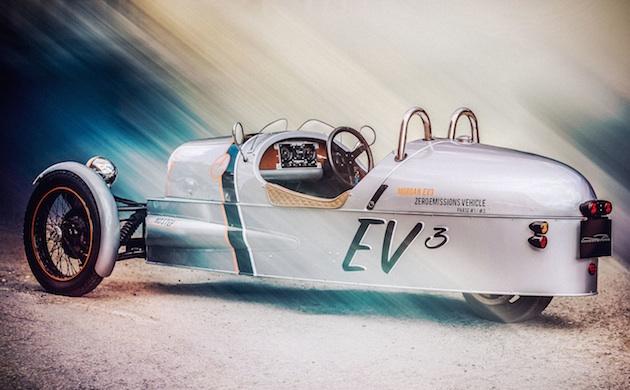 英モーガン、「3ホイーラー」の電気自動車バージョンをグッドウッドで公開へ