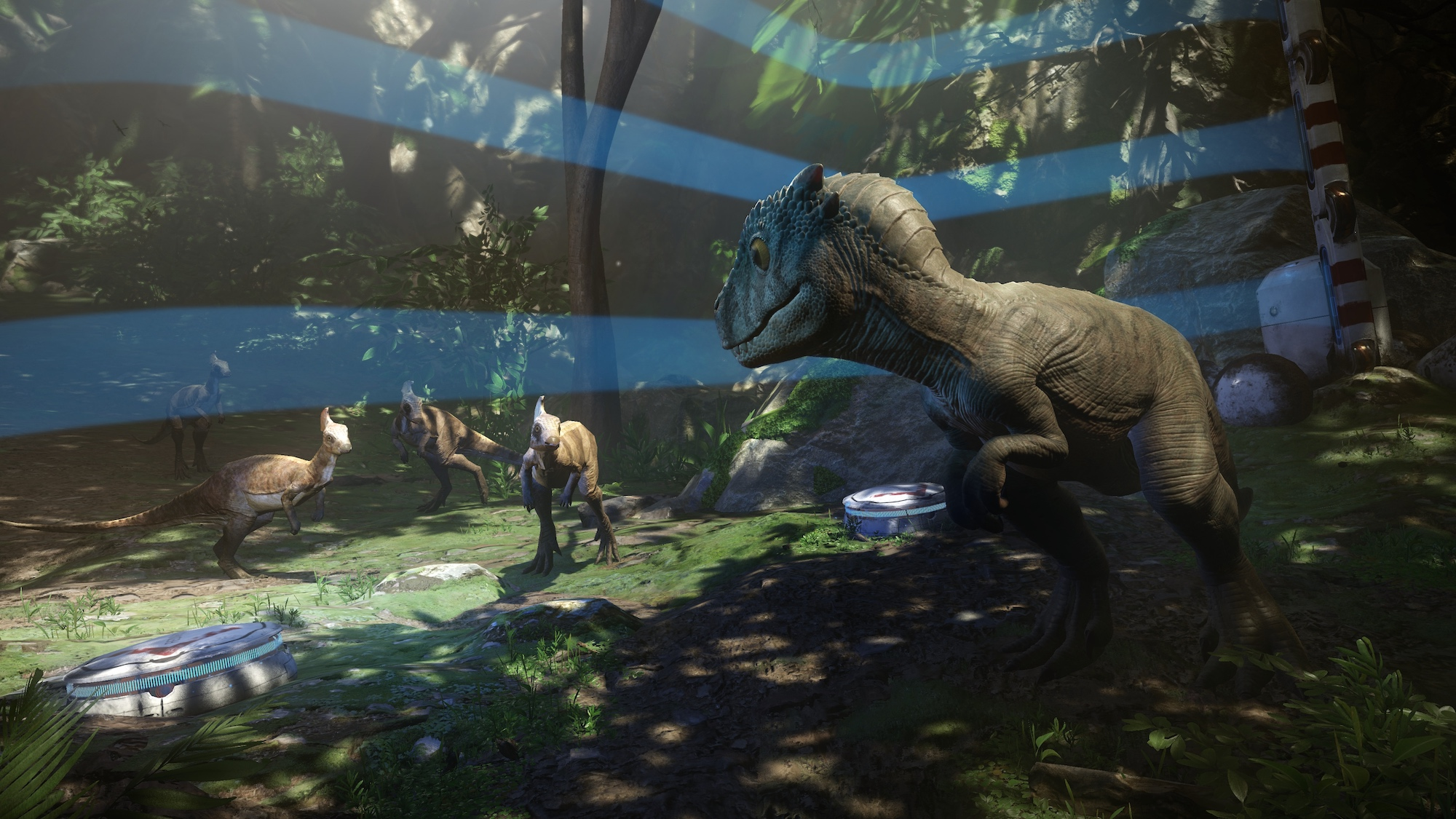 I barely survived on a dinosaur planet in PlayStation VR