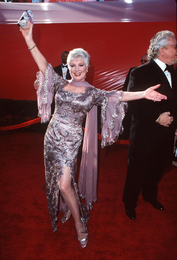 Shirley Jones during The 70th Annual Academy Awards - Red Carpet at Shrine Auditorium in Los Angeles,...