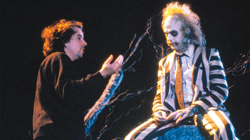 No Merchandising. Editorial Use Only. No Book Cover Usage. Mandatory Credit: Photo by Moviestore/REX/Shutterstock (1547787a) Beetlejuice (On Set) Film and Television