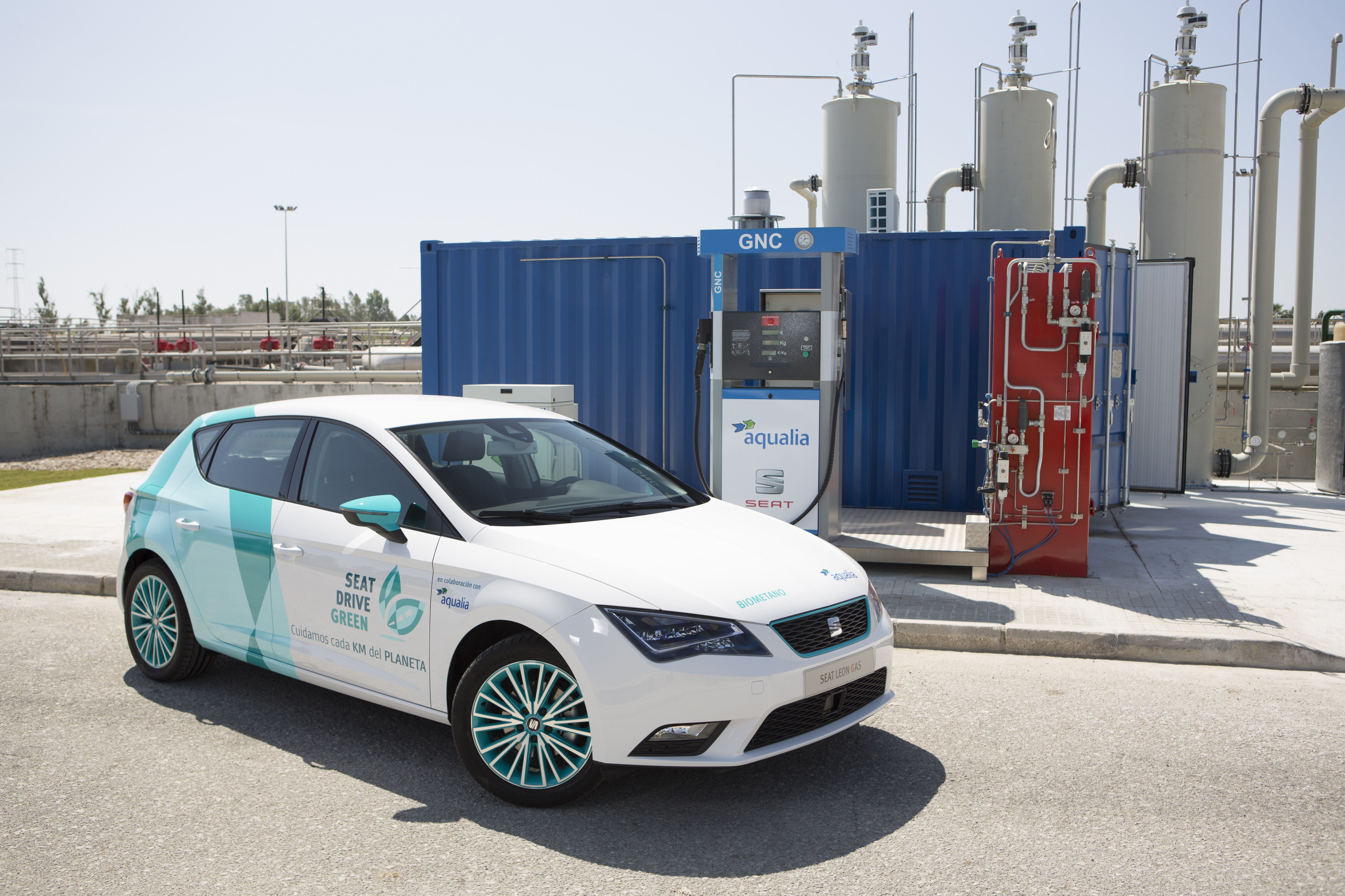 Seat Teams Up With Water Company To Power Cars Sewage