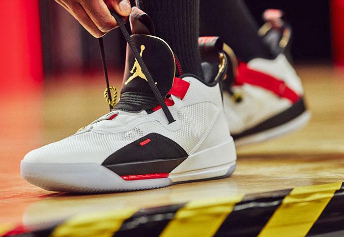 Jordan XXXIII adds lacing tech 'informed' by Nike's HyperAdapt
