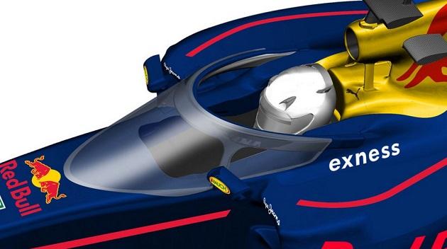 レッドブル、F1のコクピット防護システムとして考案したキャノピーのデザインを公開