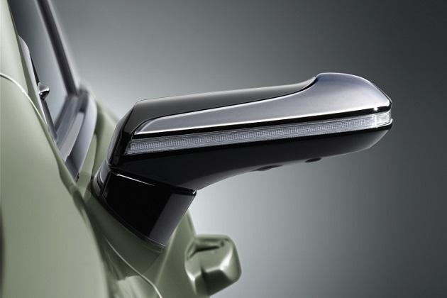 【ビデオ】量産車では世界初! レクサスが「デジタルアウターミラー」を日本向け新型「ES」に採用