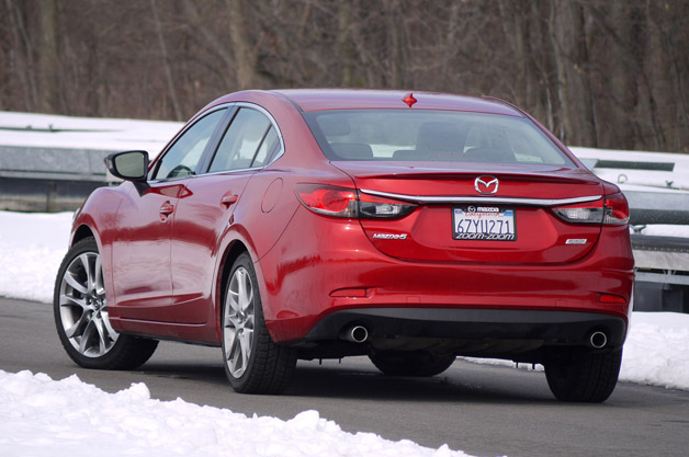 Elegant 2014 Mazda6. I Used Every Scintilla Of Grip Available From Those Lauded  Tires.