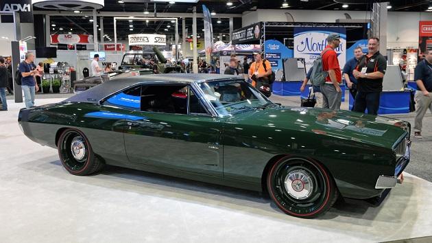 【SEMA2017】Ringbrothers社が、1969年型ダッジ「チャージャー」のカスタムカーを披露!