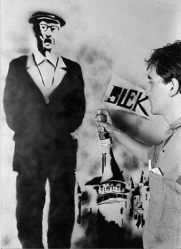 El artista Blek le