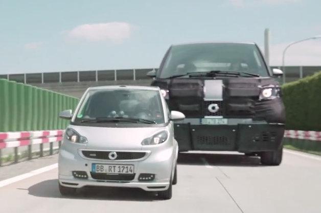 【ビデオ】スマートが今週、新型車を発表 コンセプトは