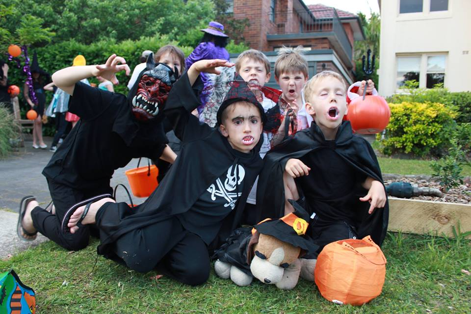 supplied kids in australia love to dress up as spooks