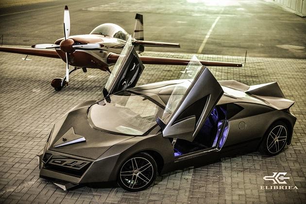 年内の市販化を目指す、カタール初のスーパーカー「Elibriea」