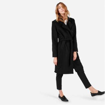 Everlane The Wool Trench