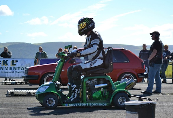 World speed record mobility scooter