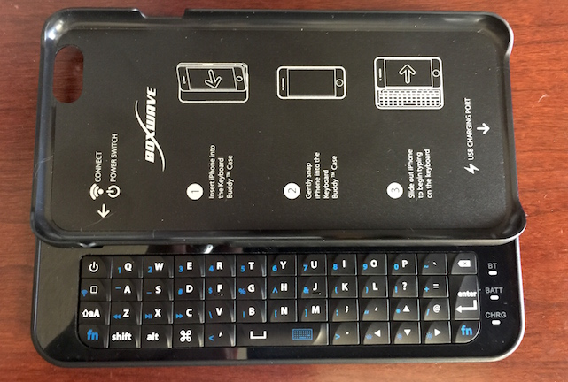 reputable site 73f94 e8d8c Boxwave Keyboard Buddy case: When a virtual keyboard isn't enough