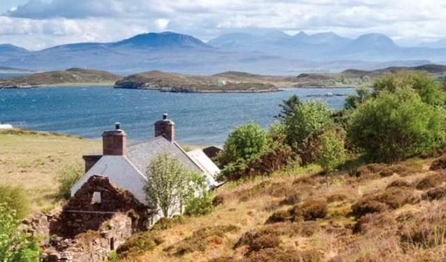 self sufficient private island for sale off scottish coast aol rh aol co uk remote scottish coastal cottages for sale