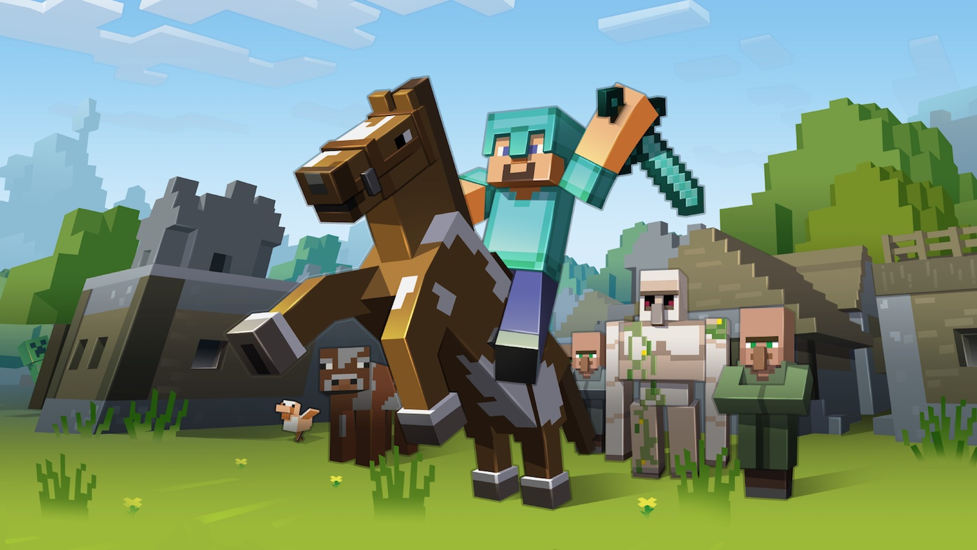 《Minecraft》将于年底登陆你的 Apple TV