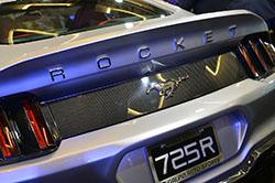 Galpin Fisker Rocket - rear fascia closeup