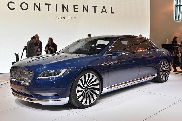 【NYオートショー2015】リンカーン、復活した「コンチネンタル」のコンセプトカーを発表!